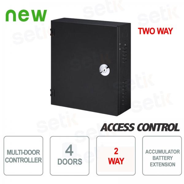 Controller 4 porte bidirezionale con vano batteria Dahua