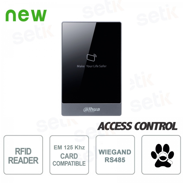 Proximity reader RFID cards EM 125KHz - Dahua