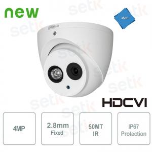 HD CVI 4MP Dome 2.8mm IR 50MT Dahua Camera