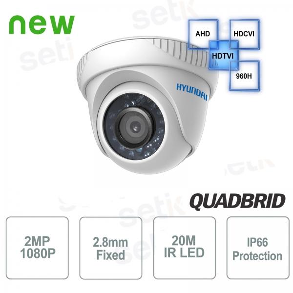 Video surveillance camera Hyundai 2 MP 4 in 1 Dome 2.8 mm IR