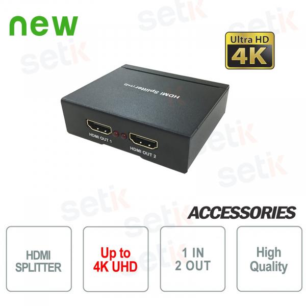 HDMI Splitter 4K UHD 1 in 2 out - Dahua
