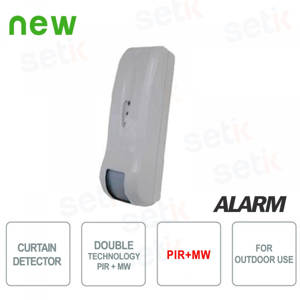 Outdoor Double Wire Technology Curtain Sensor Wired