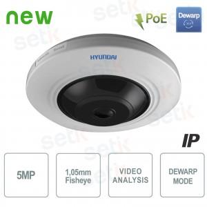 Telecamera IP PoE Panoramica 5MP... Hyundai Security HYU-353 Telecamere IP