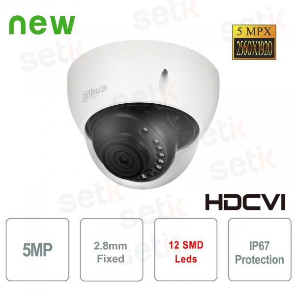 Telecamera da esterno HD CVI 5MP 2.8mm IR Dahua