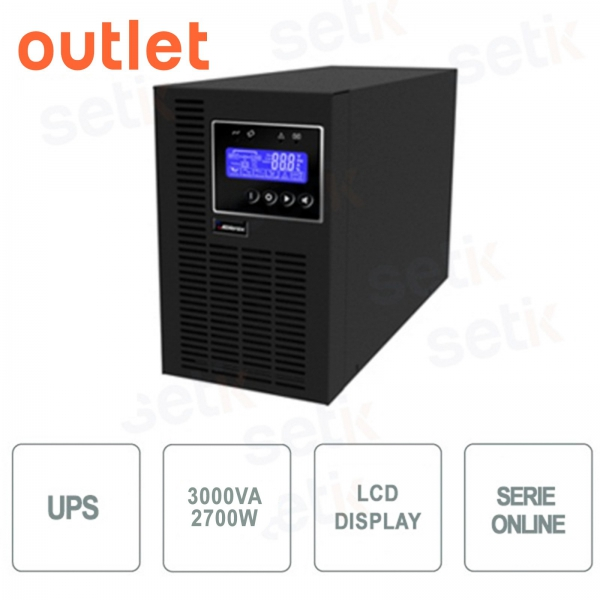 UPS UPS 3000VA / 2700W Single-phase LCD - Outlet