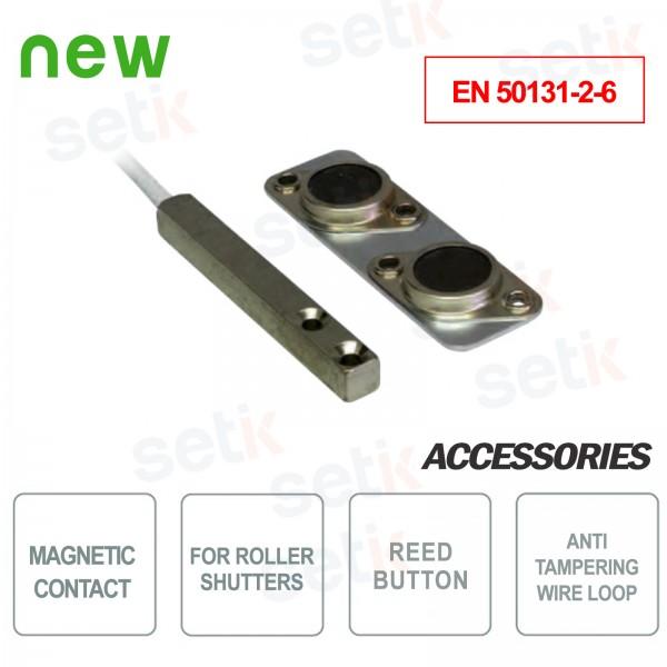 Contatto magnetico per avvolgibili - EN 50131-2-6 - CSA