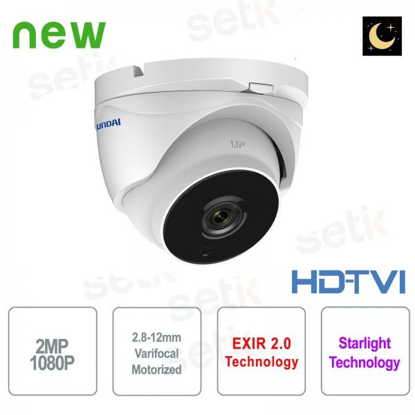 Hyundai 2 MP HDTVI Camera Motorized Starlight WDR Dome