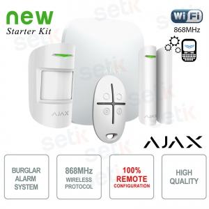 AJAX Kit di Allarme... Ajax AJ-HUBKIT-W Wireless