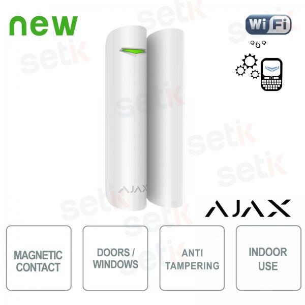 Ajax Contacto magnético inalámbrico alarma puerta / ventana 868Mhz