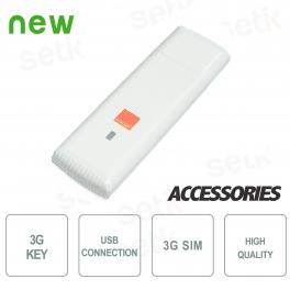 3G KEY Collegamento Mobile per Sistemi Video Setik Cloud