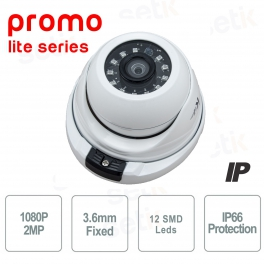 IP Dome Camera 2MP 1080P 3.6mm - Promo Series - Setik