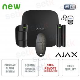 AJAX Kit di Allarme Professionale Wireless senza fili GPRS / Ethernet Black