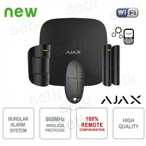 AJAX Wireless Wireless Professional GPRS / Ethernet Black Alarm Kit