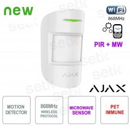 Ajax Dual Technology Immune PIR Detector 868MHz
