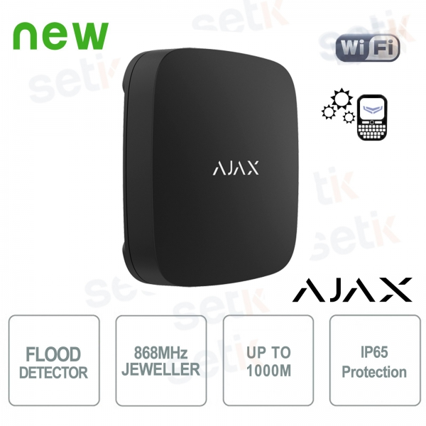 Ajax 868MHz Black wifi flooding sensor