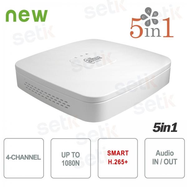 DVR 4 Canali CVI AHD TVI ANALOGICO IP 1080N H.265+ Dahua