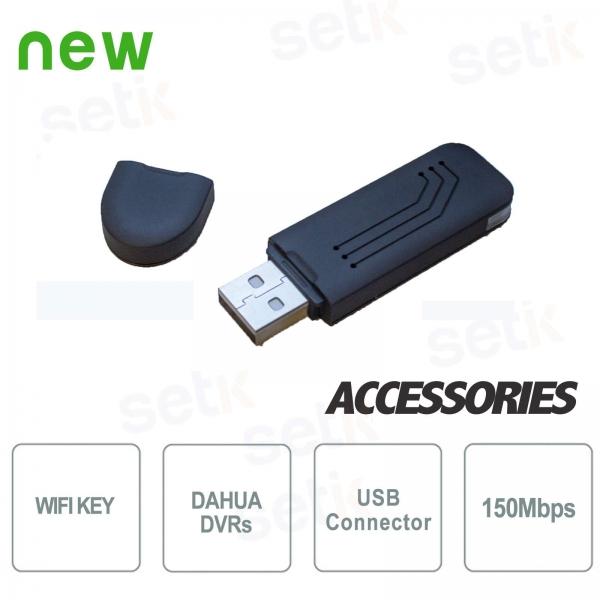 Chiavetta WiFi per connessione rete DVR Dahua