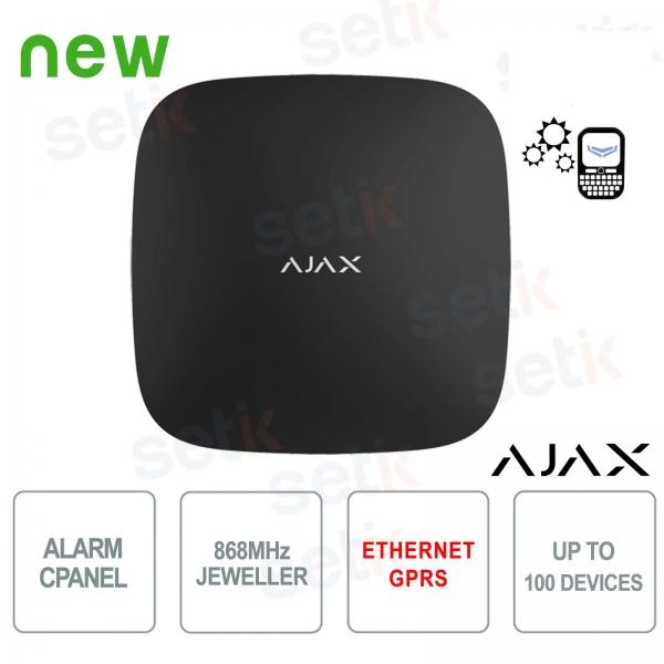 Centrale d'alarme Ajax HUB GPRS / LAN 868MHz Black Version