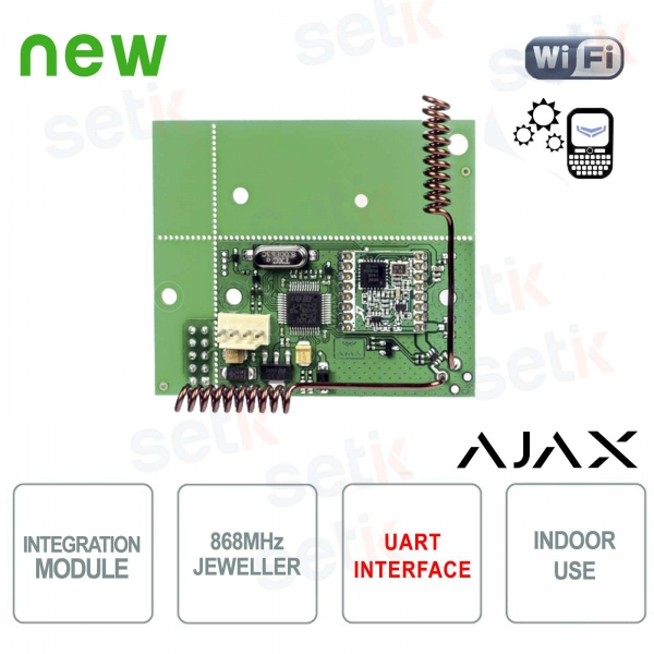 Ajax uartBridge Ajax sensor integration module in third-party systems
