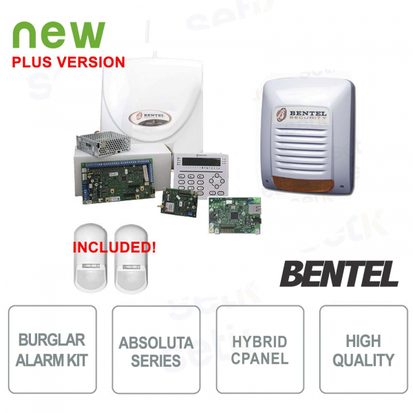 ABS42-IP complete anti-theft kit + Perimeter sensors
