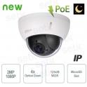 External HD IP camera Dahua 2MP PTZ Starlight 4x PoE WDR