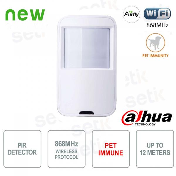 Dahua PIR Motion Detector 868MHz Pet Immune 12MT 90 °