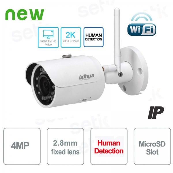 Telecamera Wireless IP Dahua 4MP 2.8 mm ONVIF - Serie Consumer