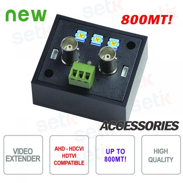Amplificatore video 800M per segnale AHD - HDCVI - HDTVI