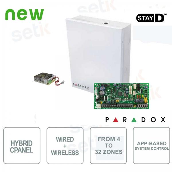 Spectra Centrale Allarme Paradox SP4000 Ibrida 4 Zone Espandibile