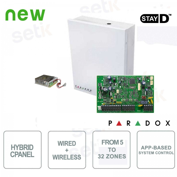 Spectra Centrale Paradox SP5500 Hybrid 5 Zone Expandable Alarm