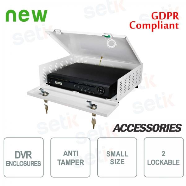 Pulsar contenitore metallico box DVR Tamper - Small