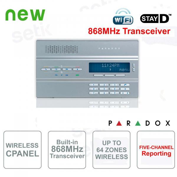 Magellan Central Alarm Paradox MG6250S / 86 Wireless 868MHz