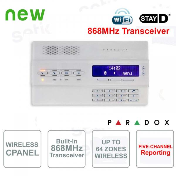 Magellan Centrale Allarme Paradox MG6250W/86 Senza Fili 868MHz