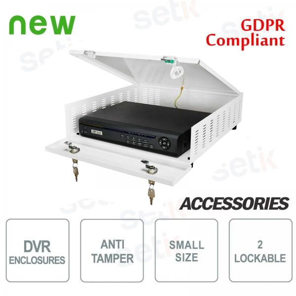 Pulsar contenedor de metal DVR box Tamper - Small Plus
