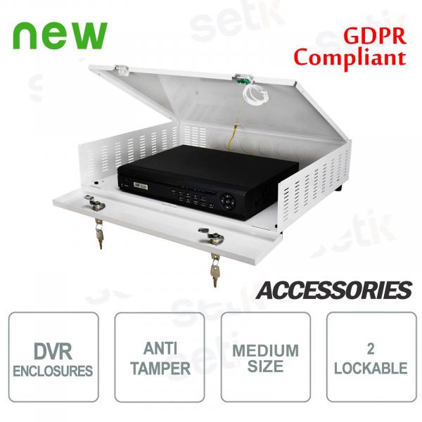 Pulsar metal container DVR box Tamper - Medium