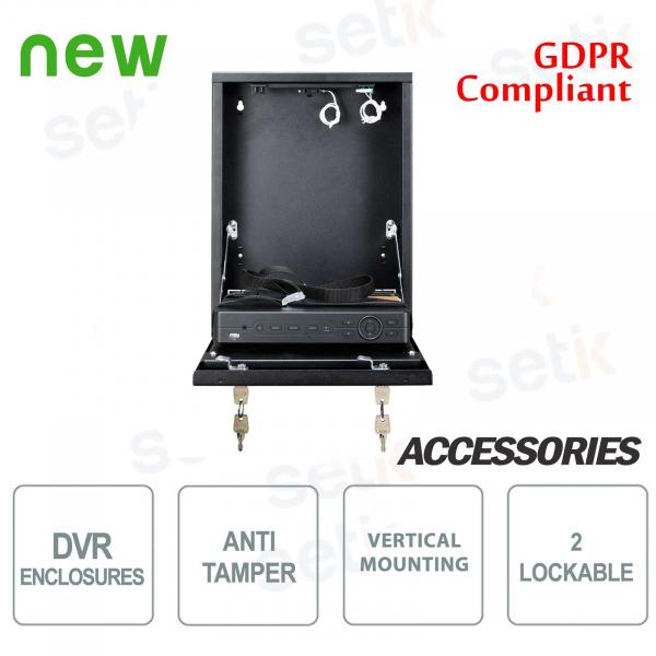 Pulsar Tamper metal box DVR box - Mini Vertical