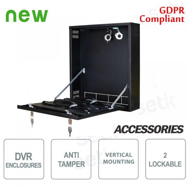 Pulsar Tamper metal box DVR box - Small Vertica