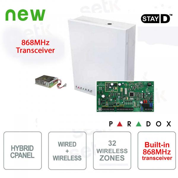 Magellan Centrale Alarm Paradox MG5050 / 86 Wireless 868MHz Cablable Hybrid