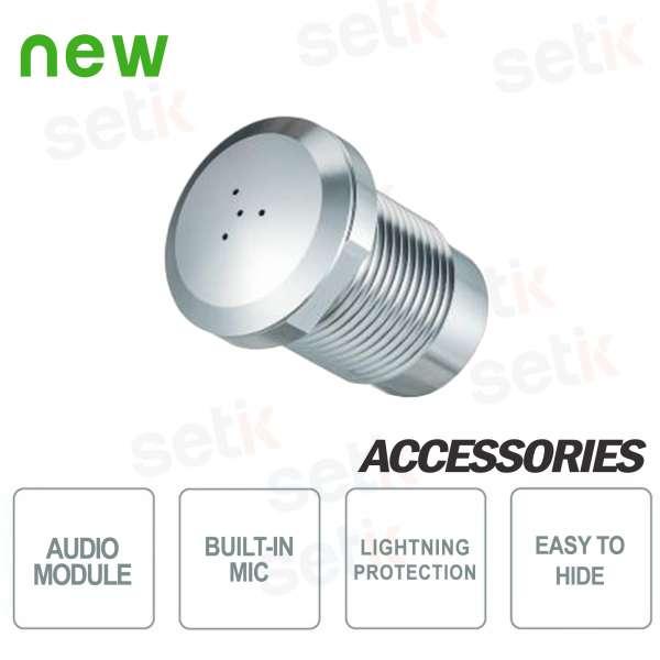 Modulo Audio Mini Microfono 8KV ESD IP66 Dahua