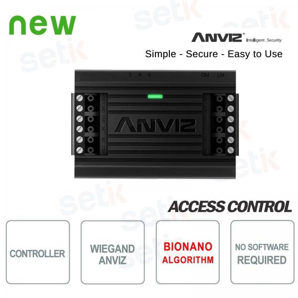 Controller per controllo accessi Anviz Wiegand