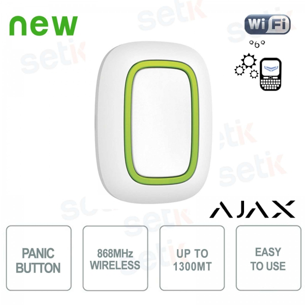 Ajax 868MHz wireless panic alarm emergency button