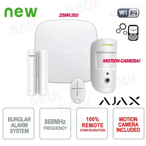 AJAX Professional Wireless GPRS / Ethernet 2SIM 2G Alarm Kit