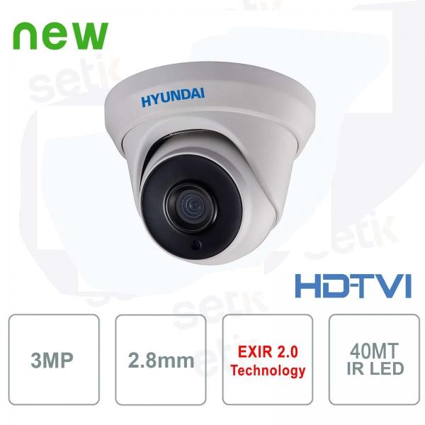 Hyundai 3MP TVI IR40 2.8mm external HD camera