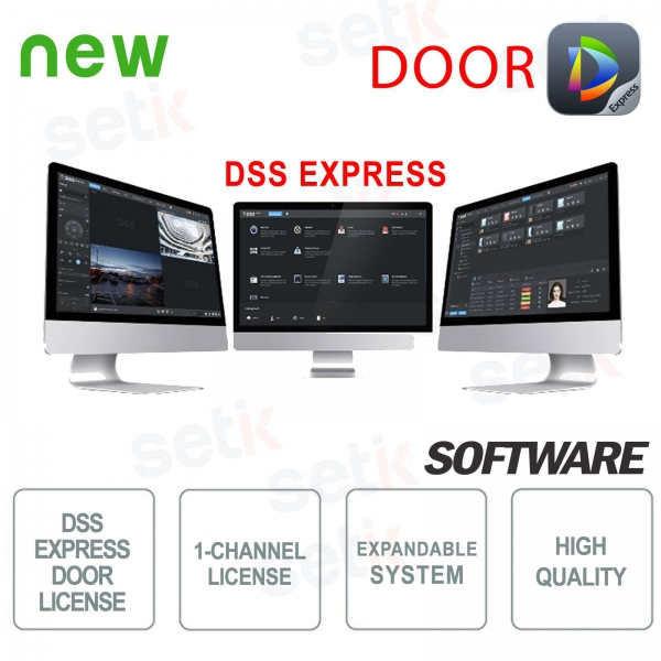 VMS Dahua Software DSS EXPRESS Licenza Controllo Accessi