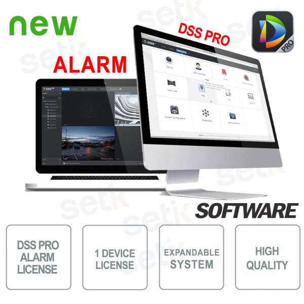 VMS Dahua Software DSS PRO Alarm License