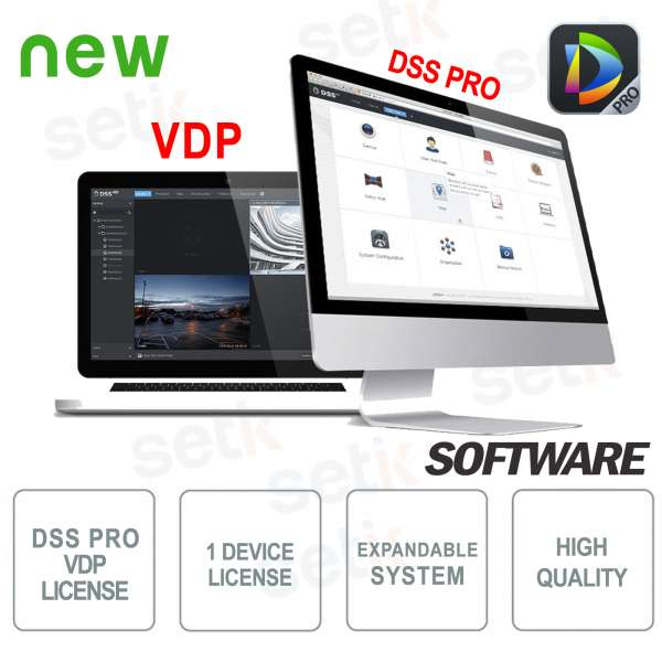 VMS Dahua Software DSS PRO License Video door phones