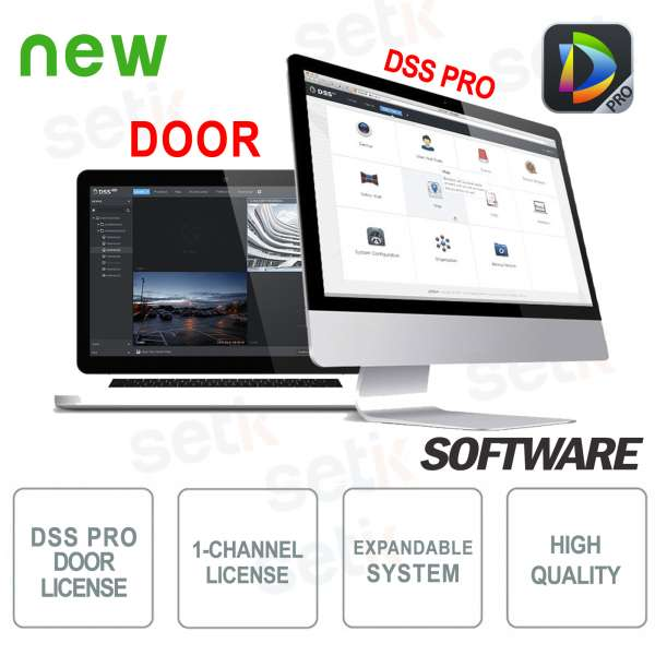 VMS Dahua DSS Pro Software Access Control License