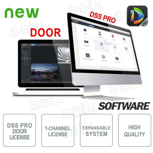 VMS Dahua Software DSS Pro Licenza Controllo Accessi