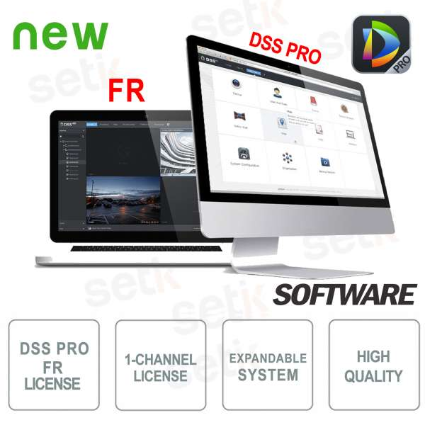VMS Dahua DSS Software PRO Facial Recognition License