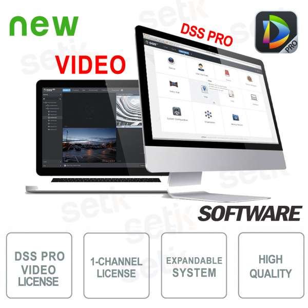 VMS Dahua Software DSS PRO Video License
